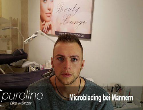 Microblading-Augenbrauen bei Männern