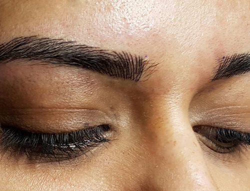Neues Permanent-Make-Up-Augenbrauen
