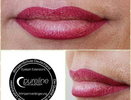 Lippen Pigmentierung