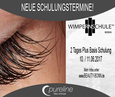 Wimpern Schulung 2 Tage - Beauty Bonn - Pureline
