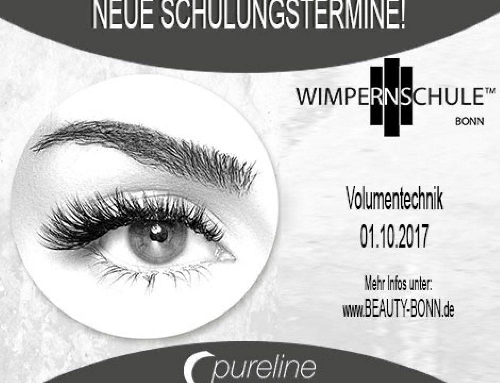 Volumen Wimpern Schulung am 01.10.2017 – Beauty Bonn