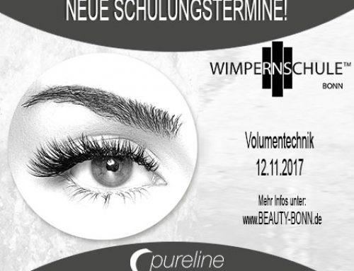 Volumen Wimpern Schulung am 20.8.2017 – Beauty Bonn