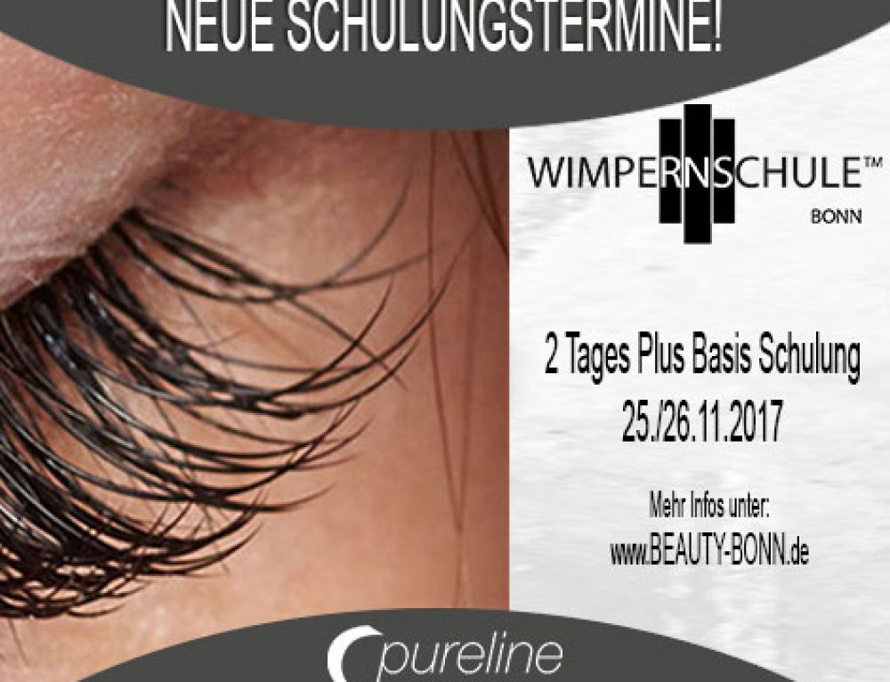 2 Tages Basis Wimpern Schulung 24&25.11.2017 – Beauty Bonn