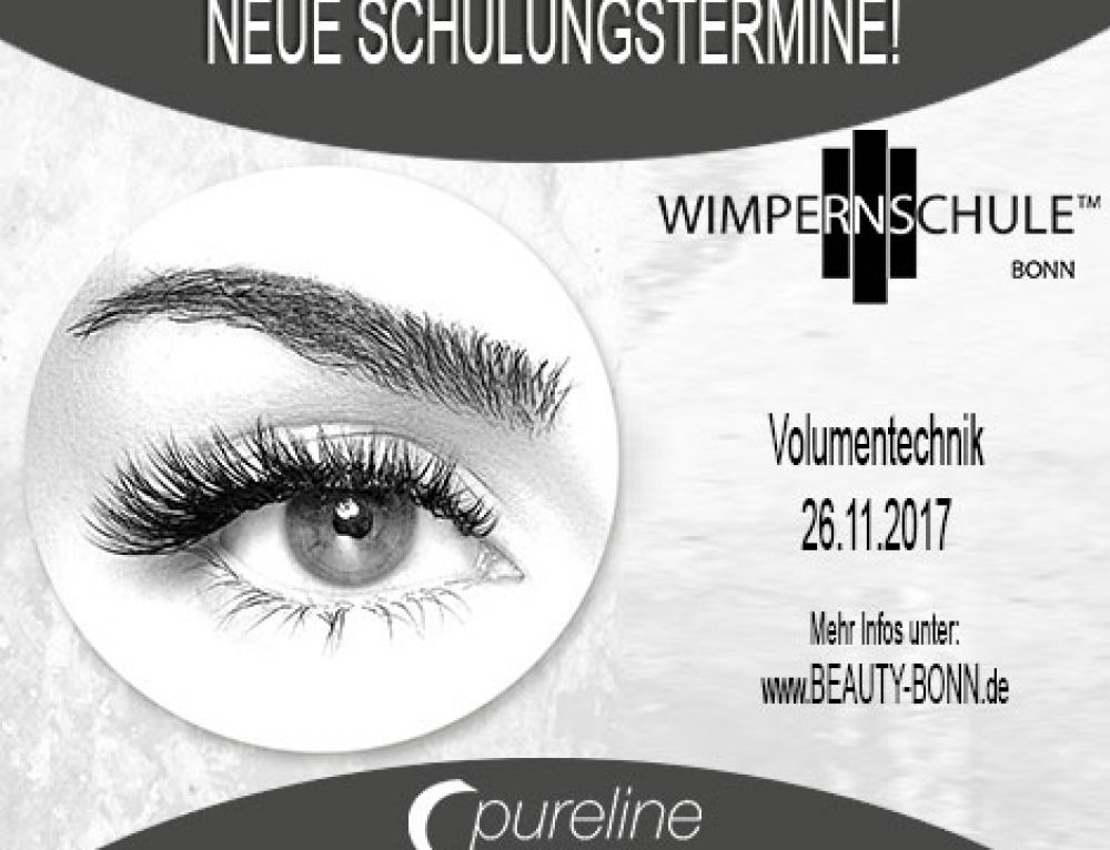 Volumen Wimpern Schulung am 26.11.2017 – Beauty Bonn