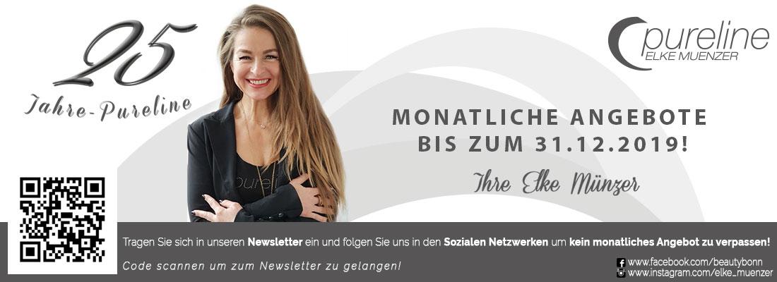 Beauty-Angebote Teaser - Beauty Bonn 25 Jahre Pureline