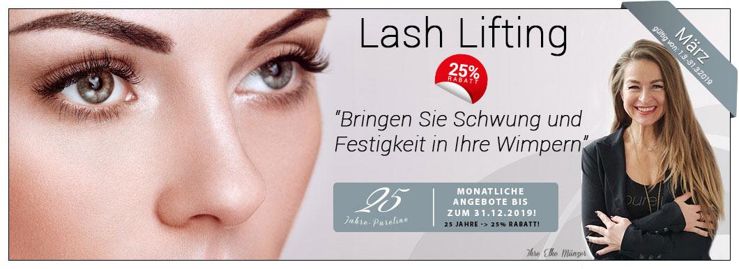 Lash Lifting beauty jubiläumsangebote-März