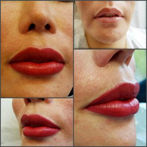 Permanent Make Up Lippen Beispiel FAQ