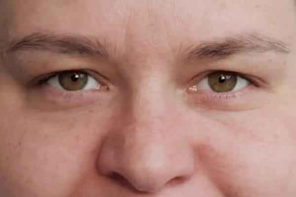 Henna Brow Vorher