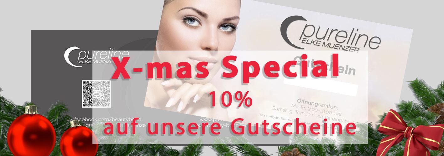 Gutscheine Banner XMas Special